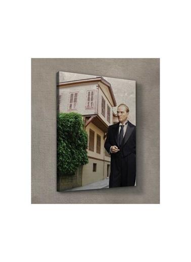 Artikel Atatürk-27 Kanvas Tablo 50X70 Cm Renkli